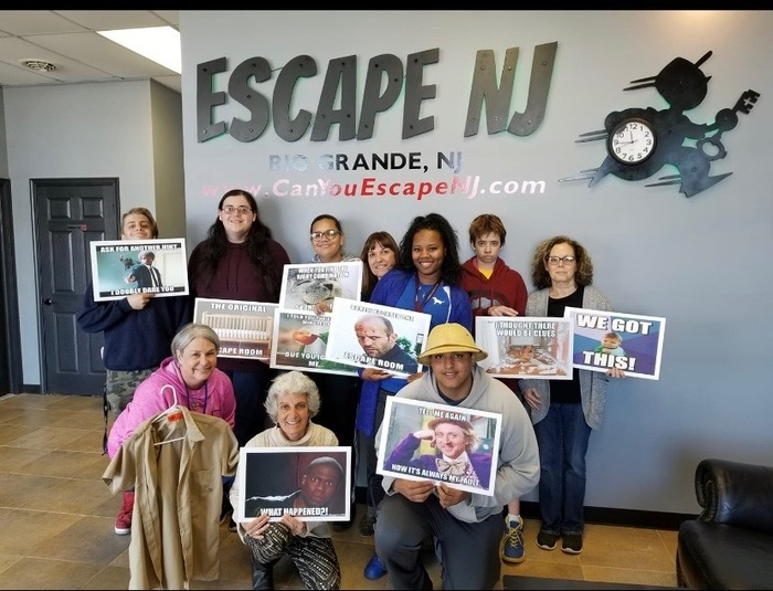 "They ""Escaped"""